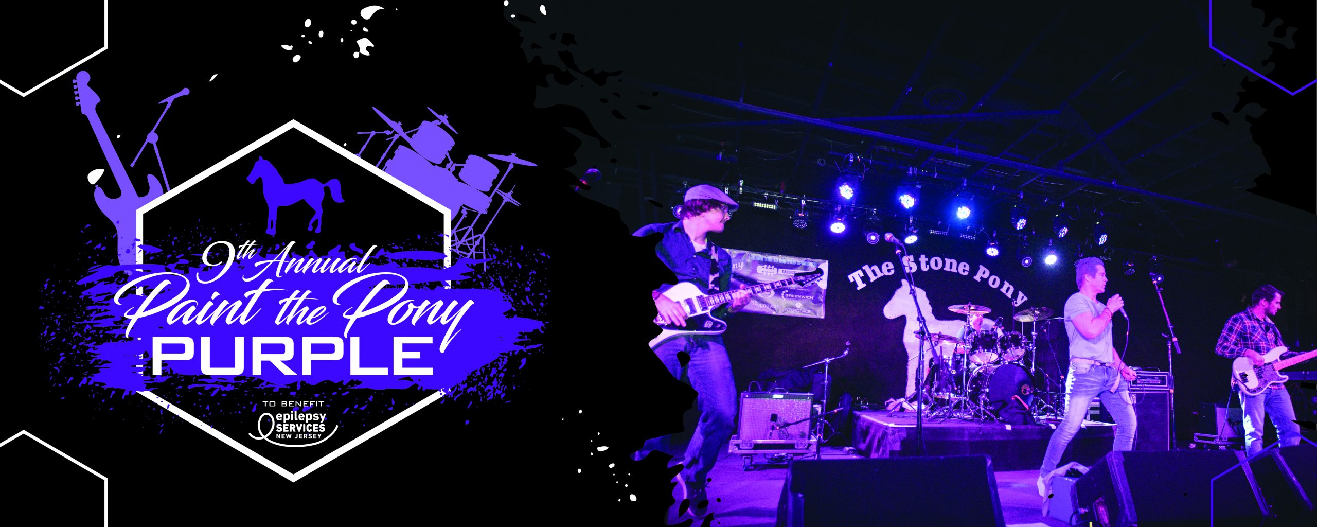 band on stage at the stone pony